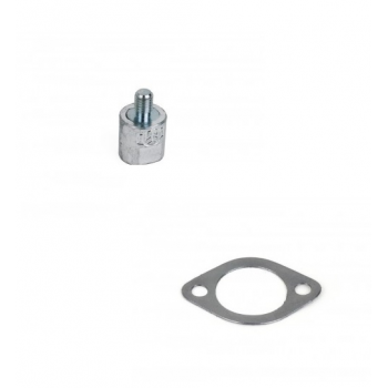 1GM Engine Anode and Gasket
