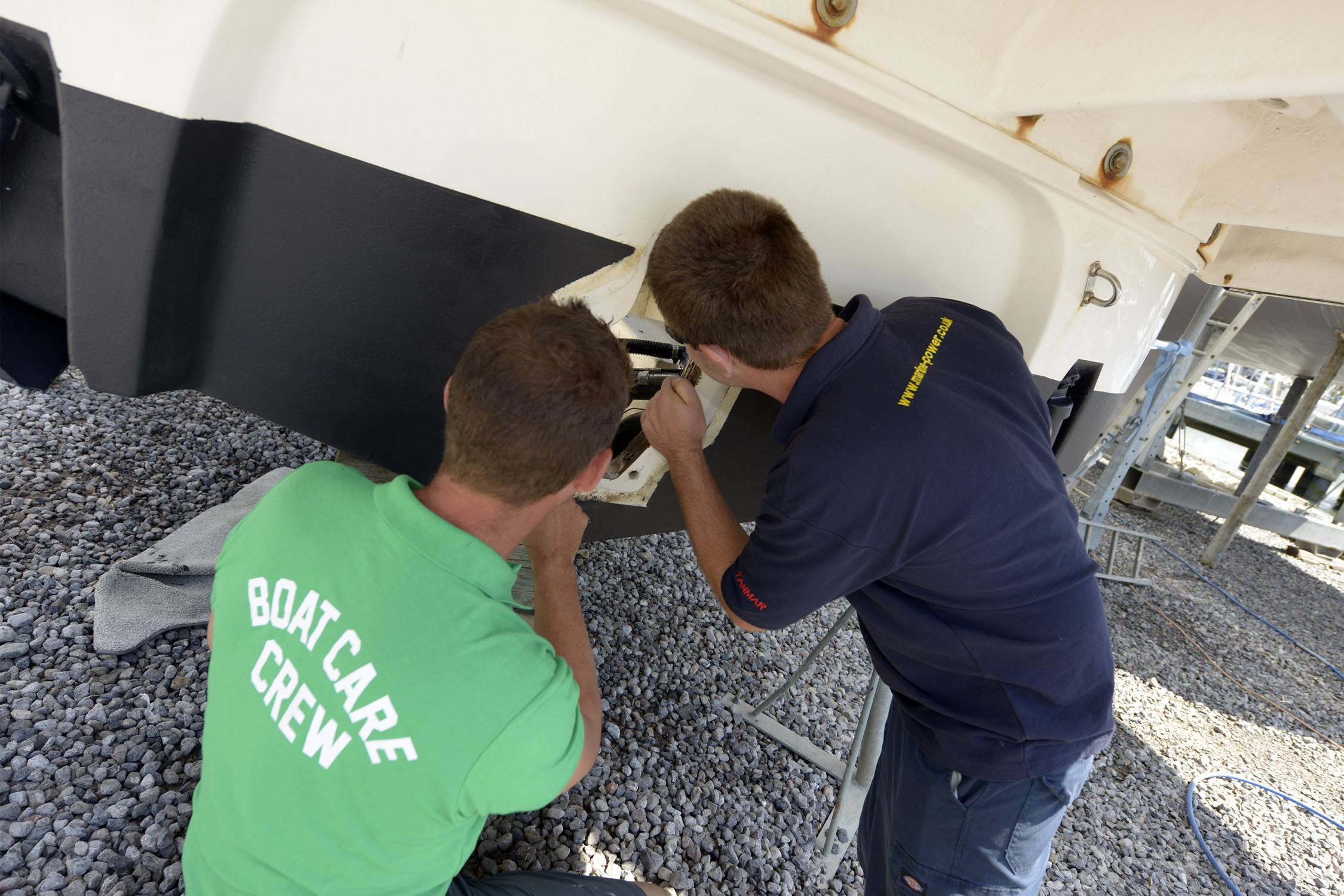 Marine Power & Servicing team up with boatfolk's 'boatcare' Division