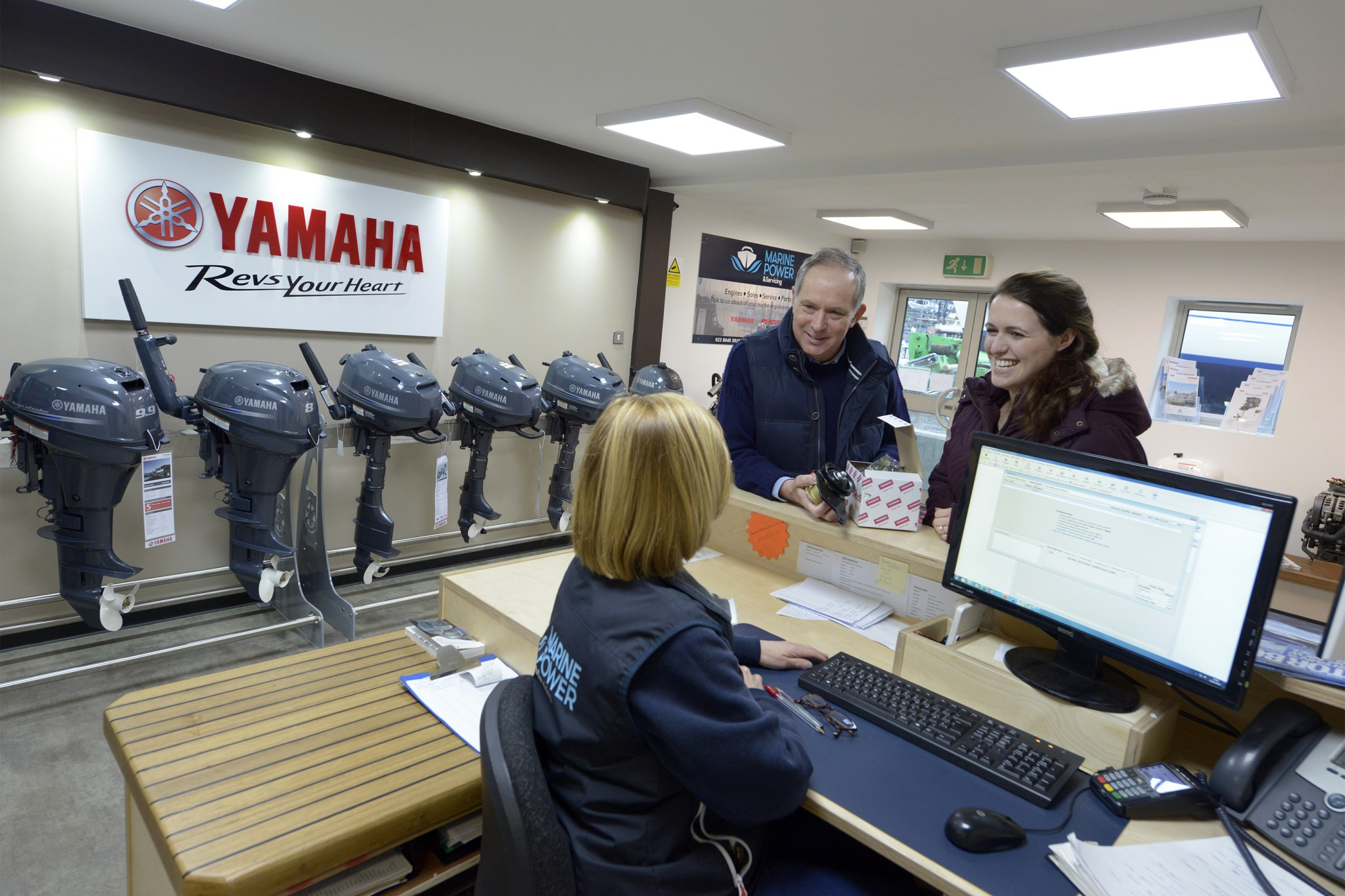 Marine Power appointed as a Yamaha Sales Agent and Service Centre