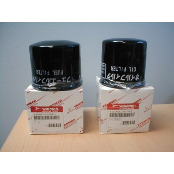 4JH5E & 4JH4AE oil & fuel filter set